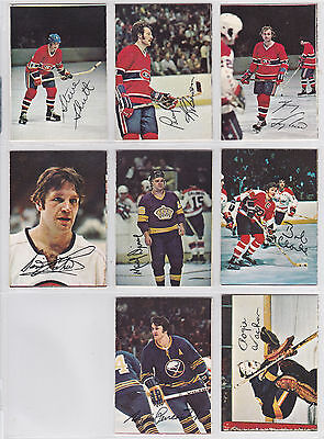 Near Complete Set - 1977/ '78 O-Pee-Chee Square Glossy Inserts (16/22) Lafleur++