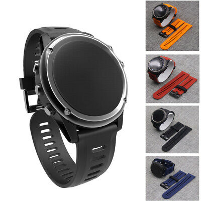 Replacement Silicone Watch Band Wrist Strap for Garmin Fenix 3/Fenix 3HR/5 X PHX