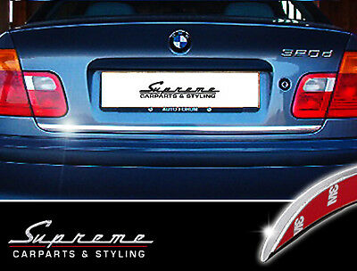 BMW 3 Series E46 Saloon Hatchback CHROME SIDE DOOR COVERS TRIM STRIP Tuning 3M