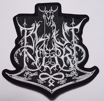 BLUT AUS NORD white logo EMBROIDERED PATCH - $6 66   PicClick
