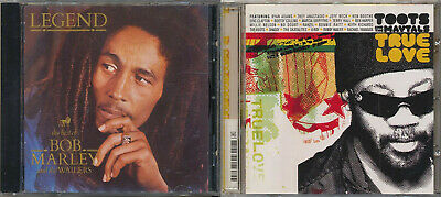 True Love by Toots & the Maytals / LEGEND : the Best of Bob Marley (2 CD SALE)