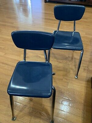Vintage Virco Mid Century Childs School Chair (Set Of 2)
