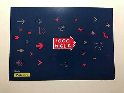 2019 Folder Filatelico 1000 Mille Miglia The Most Beautiful Race in the World