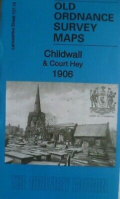 Old Ordnance Survey Maps  Childwall & Court Hey Lancashire 1906 Godfrey Edition