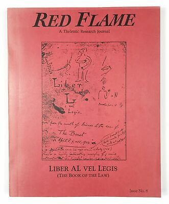 Aleister Crowley Red Flame No. 8 Thelemic journal occult O.T.O.