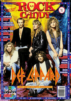 Rock Candy Magazine April/May 2019 (Def Leppard, Genesis, Quo, Iron Maiden, Styx