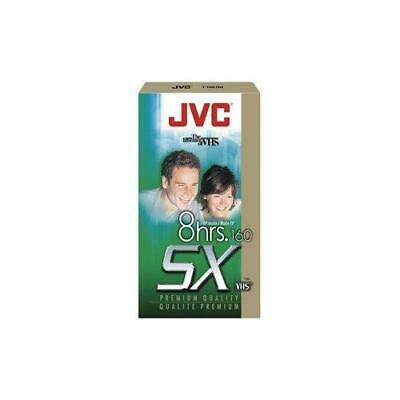 JVC Blank 8 Hour SX160 VHS Tapes Lot Of 3 SEAL NEW b;265