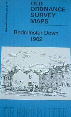 Old Ordnance Survey Maps Bedminster Down Gloucestershire  1902 Godfrey Edition