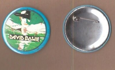 David Bowie Man Who Fell To Earth vintage 1970s BUTTON BADGE