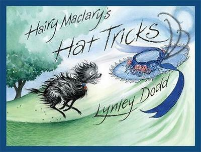 Hairy Maclary's Hat Tricks by Lynley Dodd Board Books Book Free Shipping!