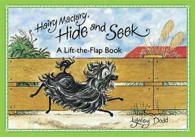 Hairy Maclary, Hide and Seek: A Lift-the-Flap Book by Lynley Dodd Board Books Bo