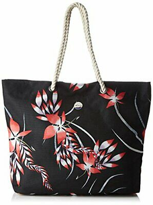 Roxy Printedtropical - Bolsa de Hombro Mujer(Noir ((Noir (Anthracite Drop Out))