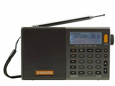 XHDATA D-808 FM / AM / SW / LW AIR SSB DSP RDS Radio World Band Radio