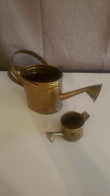 Very Nice Vintage Hammered Copper Watering Can