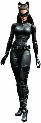 THE DARK KNIGHT TRILOGY PLAY ARTS Kai Catwoman PVC Painted Action Figure Japan