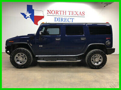 2007 Hummer H2 H2 4x4 Luxury Pkg Chrome Wheels Leather 3rd Seat s 2007 H2 4x4 Luxury Pkg Chrome Wheels Leather 3rd Seat s Used 6L V8 16V Automatic