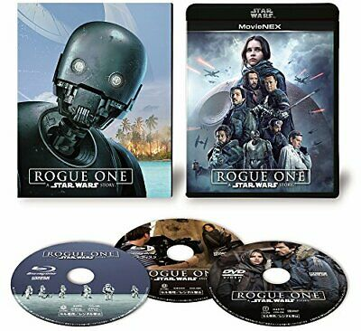 Rogue One A Star Wars Story MovieNEX First Limited Edition Blu-ray DVD