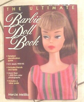 Vintage Barbie Doll THE ULTIMATE Barbie BOOK by Marcie Melillo 1996 NEW