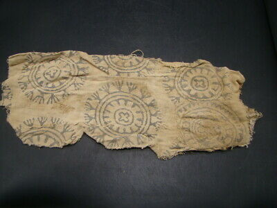 Chinese Tang dynasty (618-907) Rare textile was found on Silk Road u2741