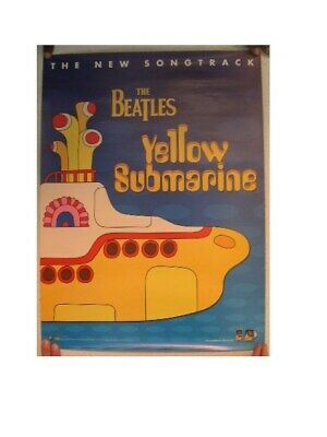 The Beatles Poster 'Yellow Submarine' Two Sided