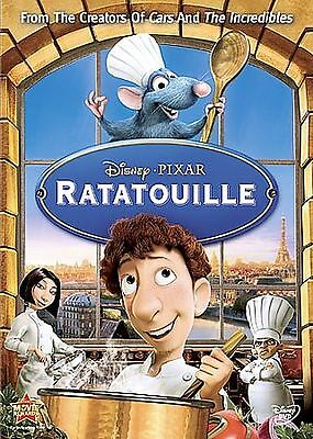 Ratatouille DVD NEW SEALED DISNEY PIXAR WITH SLIPCOVER ANIMATION