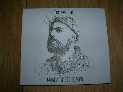 Tom Walker - What A Time To Be Alive - CD - 2019 - 12 Track plus 1 Bonus Track