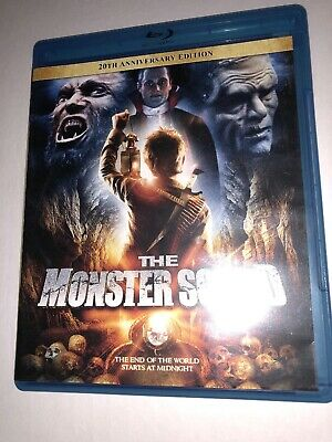 The Monster Squad 1987 Like New 20th Anniversary Edition Blu-ray RARE, OOP