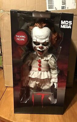 Mezco 15 Inch Talking Pennywise It Figure Brand New L@@K