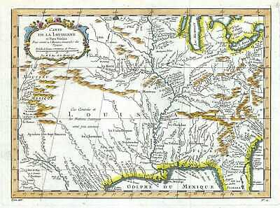 1757 Bellin Map of the United States