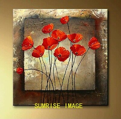 Hand-painted Modern Abstract Oil Painting on canvas wall decor/NO Frame