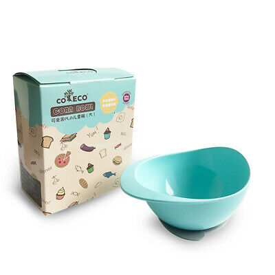 Stay Put Suction Baby Bowls PLA Corn Snack Bowl With Suction Base Spill W7Q7