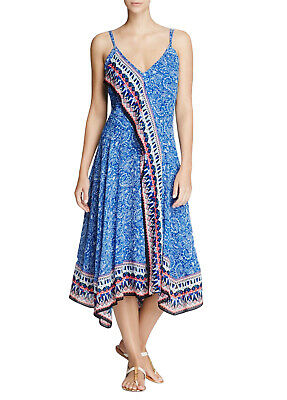 French Connection Women's Bali Border, Electric Blue/Multi, 0