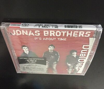 Jonas Brothers - It's About Time Music Cd Rare Dualdisc Version Brand New