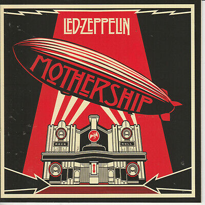 Led Zeppelin  MOTHERSHIP - THE VERY BEST OF remastered 2cds