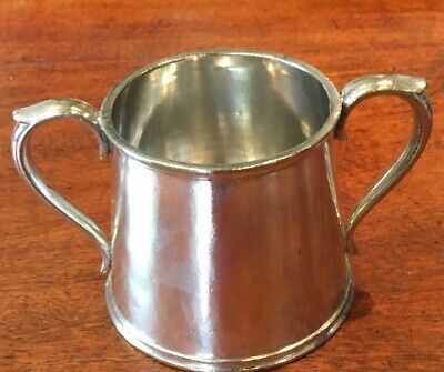 Elkington & Co Silver Plate Victorian 2 Handled Cup c1873