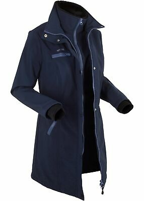 buy popular 3c0a7 f29a1 STRETCH-SOFTSHELL-LANG-JACKE GR. 44 Schwarz Damenjacke ...