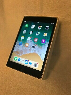 Apple iPad mini 4 128GB, Wi-Fi + Cellular (Unlocked), 7.9in - Space Gray