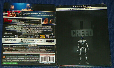 CREED 2 4K Ultra HD + Blu-ray STEELBOOK NEUF