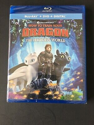 How To Train Your Dragon 3: The Hidden  World/BRAND NEW/Blu-Ray/DVD/Digital