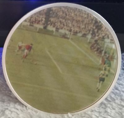 England 1966 World Cup Gold Coin of Geoff Hursts Goal 2018 Gordon Banks Unusual