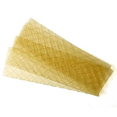 12 Gold Leaf Gelatine sets desserts and jelly 12 sheets Halal cheapest on ebay