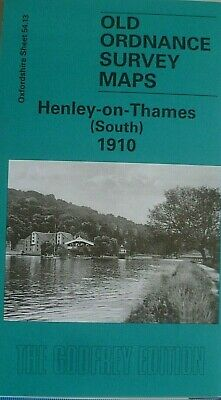 OLD ORDNANCE SURVEY MAPS HENLEY-on-THAMES (S) OXFORDSHIRE  1910 Godfrey Edition