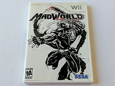 MadWorld Complete Game for Nintendo Wii System Console **TESTED & WORKS GREAT**