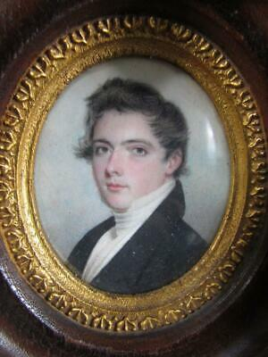 ANTIQUE ENGLISH MINIATURE PORTRAIT, attr. to CHARLES FRASER, CHRISTIES AUCTION