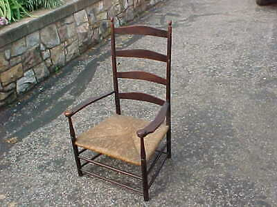 Antique Shaker Arm Chair # 7