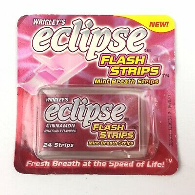 Wrigley's Eclipse Flash Strips Cinnamon Mint Breath Strips 1 Collectible Pack