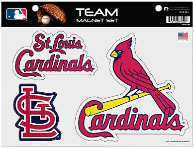 Rico Industries MLB St. Louis Cardinals Team Magnet Set