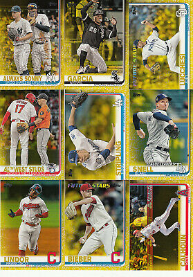 2019 Topps S1 Parallel Walgreens Yellow #271 SHANE BIEBER Indians