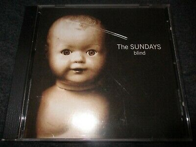 1992 THE SUNDAYS Blind US CD DGC NM/NM