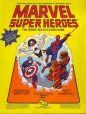 TSR Marvel Super Heroes Marvel Super Heroes - Campaign Setting Box Fair